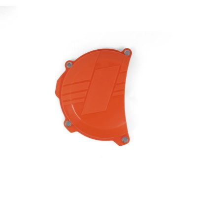 Protetor da Tampa de Embreagem BR Parts KTM 250 SXF/XCF 16/18 + KTM 350 SXF/XCF 16/18 - Laranja