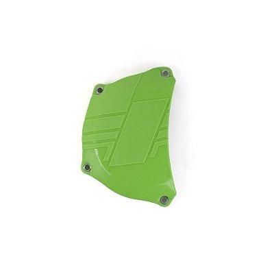 Protetor da Tampa de Embreagem BR Parts KXF 250 17/19 - Verde