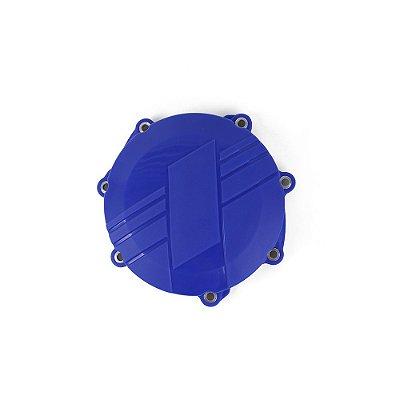 Protetor da Tampa de Embreagem BR Parts YZF 250 14/18 + WRF 250 15/18 + YZ 250FX 15/19 - Azul