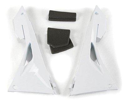 Protetor de Caixa do Filtro de Ar Ufo CRF 250 18/21 + CRF 450 17/20 + CRF 250 RX 19/21 + CRF 450 RX 17/20 - Branco