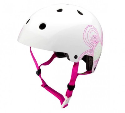 Capacete Bike Kali Maha Scent - Branco - G (59-61 CM)