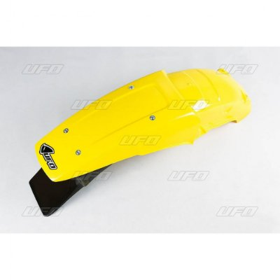 Paralama Traseiro Ufo RM 125 89/92 + RM 250 89/92 - Amarelo (ENDURO)