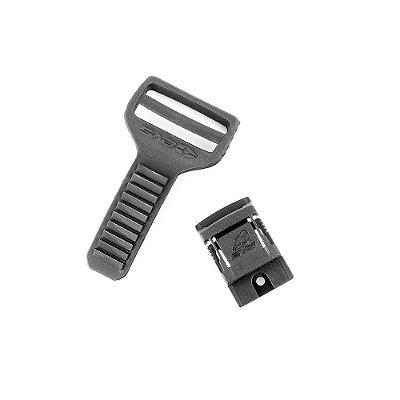 Kit com Tira e Trava para Reposição da Joelheira EVS RS9