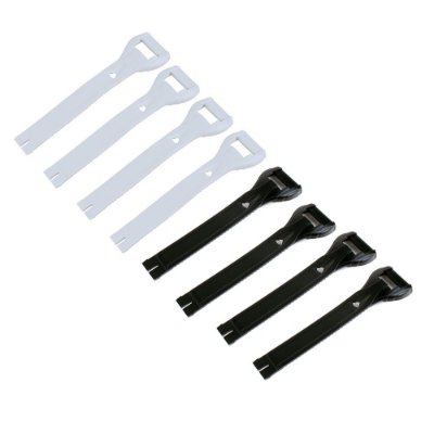 Long Strap para Reposição da Bota Gaerne SG 10 / SG 12 / GX1 / G-React - (Kit com 4 Peças)