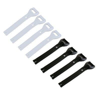 Medium Straps para Reposição da Bota Gaerne SG 10 / SG 12 / GX1 / G-React - (Kit com 4 Peças)
