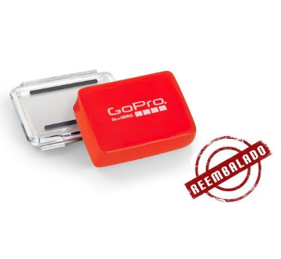 REEMBALADO: Flutuador GoPro Hero4 Black E Silver, Hero3, Hero3+ (Floaty Backdoor)