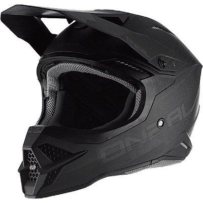 Capacete O'Neal 3Series Helmet Flat 2.0 - Preto