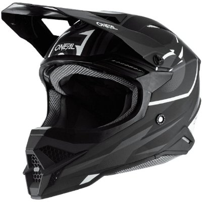 Capacete O'Neal 3Series Helmet Riff 2.0 - Preto/Cinza
