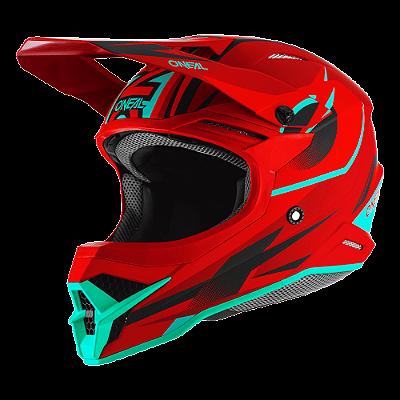 Capacete O'Neal 3Series Helmet Riff 2.0 - Vermelho