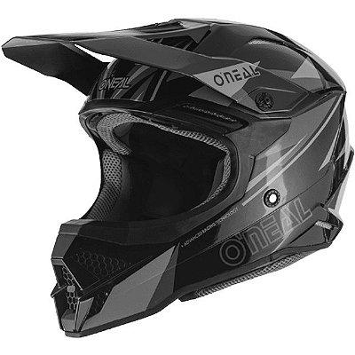 Capacete O'Neal 3Series Helmet Triz - Preto/Cinza