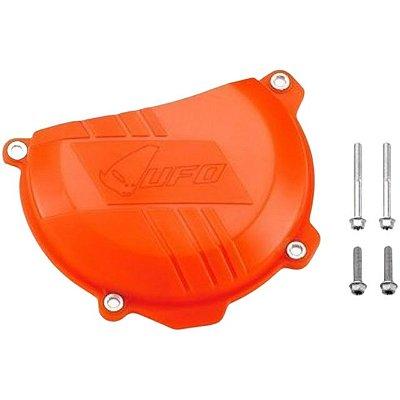 Protetor Da Tampa De Embreagem Ufo KTM 250 SX-F/EXC 13/15+ 350 SX-F 11/15+ 350 EXC 12/15