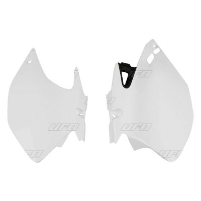 Kit Number Lateral Ufo WRF 250 07/14 + WRF 450 07/11 - Branco