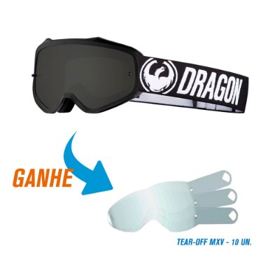 Óculos Dragon MXV e Ganhe Tear-Off de Brinde