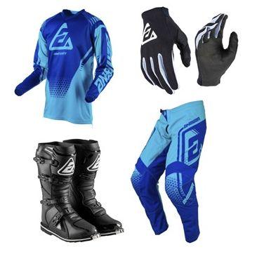 Kit de Equipamentos Answer (calça + camisa + luva + bota)