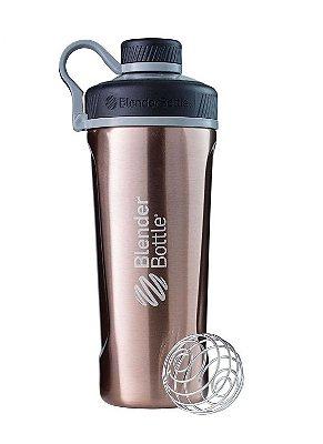Coqueteleira Blender Bottle Insulated Radian Térmica Copper