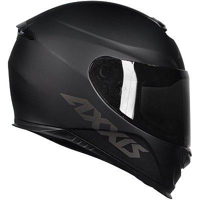 Capacete Axxis Eagle Solid Mono Matte - Preto/Cinza