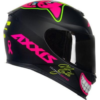 Capacete Axxis MG16 Celebrity Marianny M B - Rosa