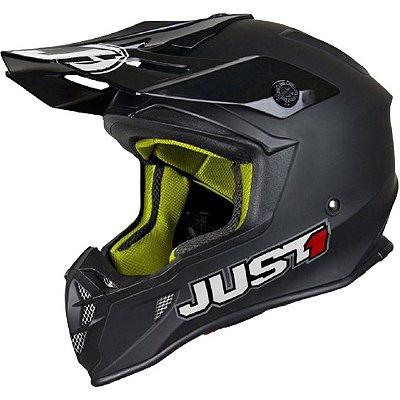 Capacete Just1 J38 Blade Solid - Preto Matte