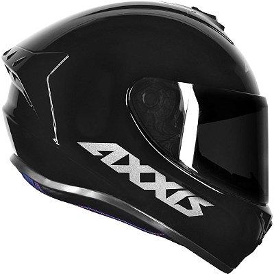 Capacete Axxis Draken Solid Mono Gloss - Preto