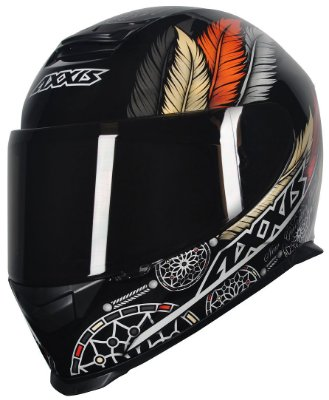 Capacete Axxis Eagle Dreams Gloss - Ocre HD