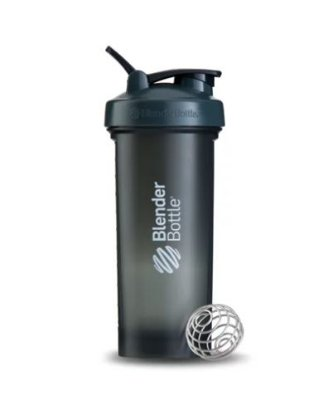 Coqueteleira Blender Bottle PRO45 Fullcolor 45OZ / 1300ML - Cinza/Branco