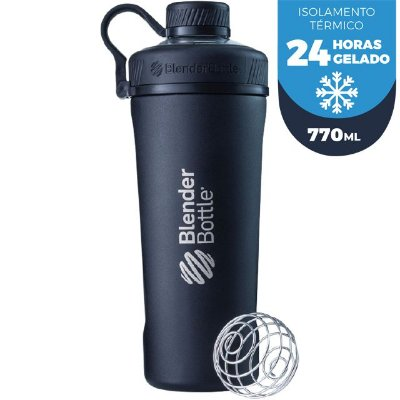 Coqueteleira Blender Bottle Radian Insulated Stainless Steel 26OZ / 770ML