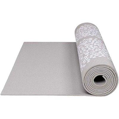 Tapete De Ginástica Yoga Atrio Premium Primavera - Cinza