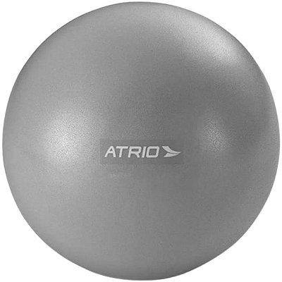 Mini Bola Fitness Atrio Antiderrapante - Cinza