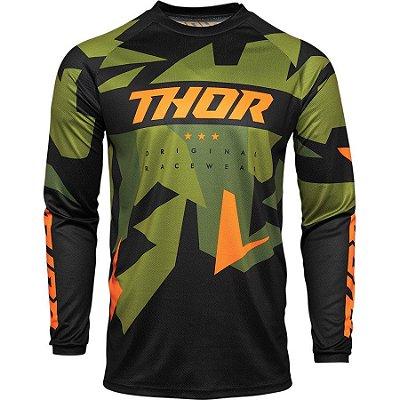 Camisa Thor Sector Warship - Verde/Laranja