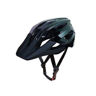 Capacete ASW Bike Accel Frontier - Preto