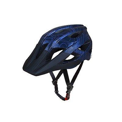Capacete ASW Bike Accel Frontier - Azul