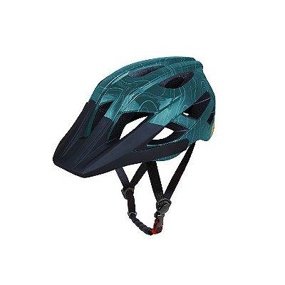 Capacete ASW Bike Accel Frontier - Verde