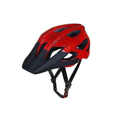 Capacete ASW Bike Accel Frontier - Vermelho