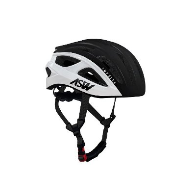 Capacete ASW Bike Impulse - Preto/Branco