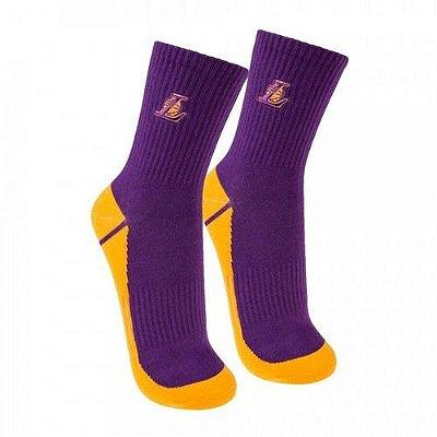 Meia NBA Lakers Cano Médio