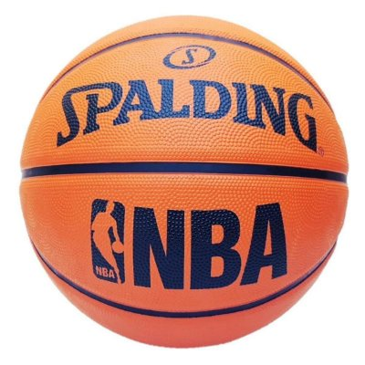 Bola De Basquete Spalding NBA FASTBREAK - Borracha - Laranja