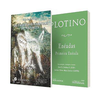 """Combo 3 - """"Os Espíritos Elementais da Natureza"""" e """"Enéada - Primeira Enéada"""""""
