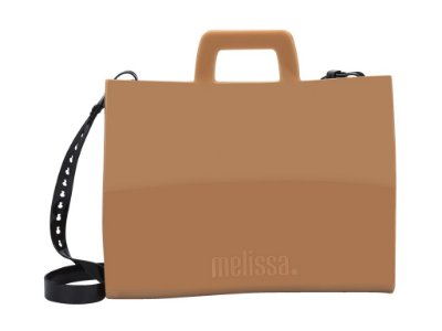 ESSENTIAL WORK BAG BEGE/PRETO MELISSA