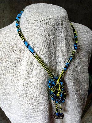Colar Étnico Azul Benin