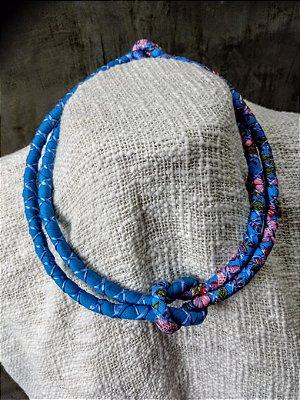 Colar Azul Chita
