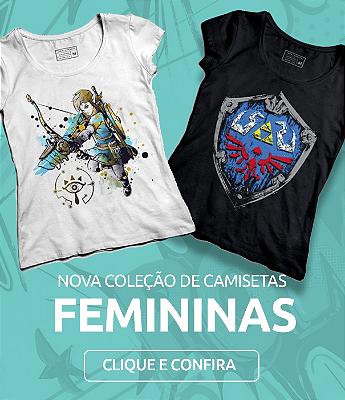 Camiseta Feminina Nerd Geekz