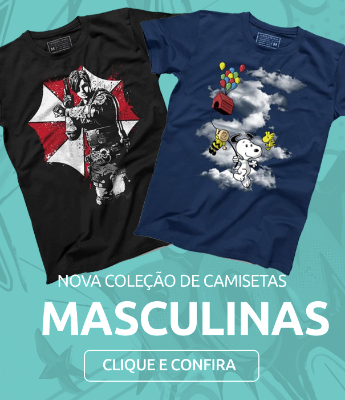 Camisetas Masculinas Nerd Geekz