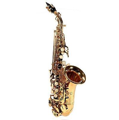Saxofone Soprano Curvo Jahnke