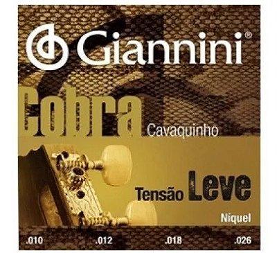 Encordoamento Cavaquinho Cobra Giannini