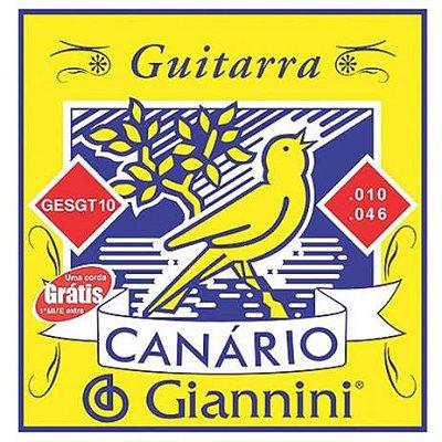 Encordoamento Guitarra Canario GEGT10