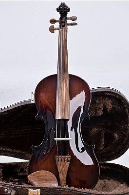 Violino 4/4 madeira exposta envernizado Nhureson
