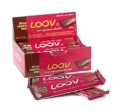 CHOCOLATE LOOV AO LEITE DE COCO 300G (UNITÁRIO) - CHOCOLIFE