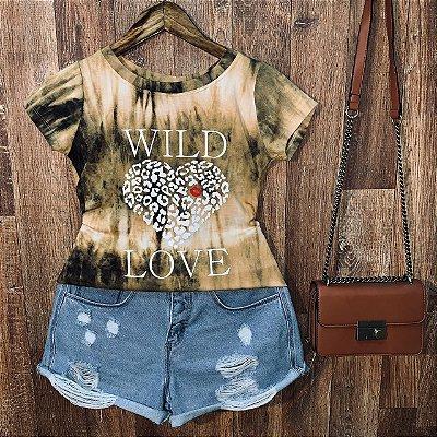 T-shirt Tie Dye Wild Love