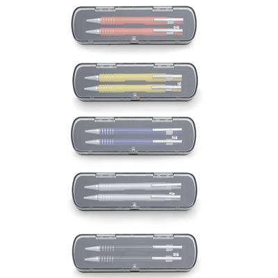Conjunto Caneta e Lapiseira Semi-Metal