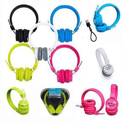 Fone de Ouvido Headfone Color Bluetooth Personalizado